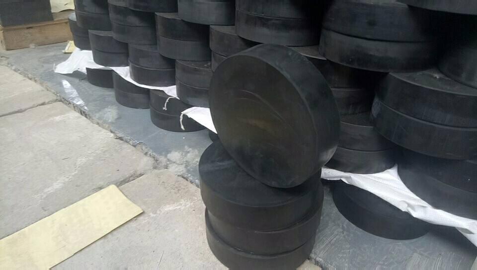 d125圆形板式阻尼橡胶支座