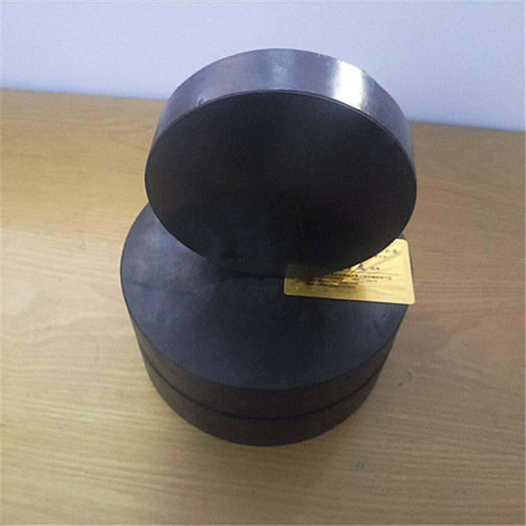 d250圆形板式阻尼橡胶支座