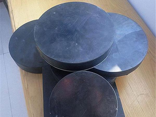 d375圆形板式阻尼橡胶支座