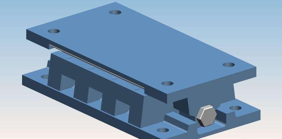 矩形(GJZF4)四氟滑板橡胶支座